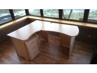 Corner Computer Desk plus drawers