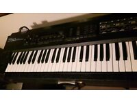 roland d50 with twice memory and patch card , swap? alpha juno? synthesizer synth