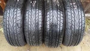 Four Yokohama 16 inch tires for slae