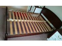 Solid Wood Double Bed