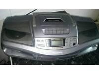 Panasonic CD radio cassette