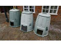 Ecomax Compost Bin - approx 220L
