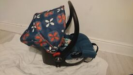 Cosatto toodle pip pram - carrycot ,carseat,pram,chassis inc