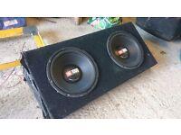 Bass box JBL 2000 watt