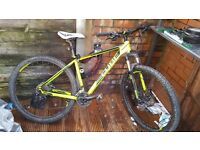 Excellent condition Cube Attention hybrid mountain bike.
