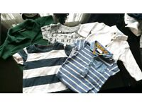 baby boys next t shirt bundle 3-6