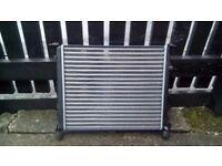Car radiator + fan for a renault clio mk2