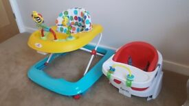 Baby Walker with Baby Feeding/playing Seat