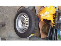 VW Transporter wheel and tyre both brand new