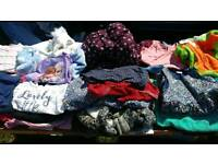 Job lot baby girl clothes and shoes