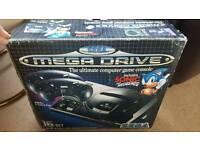 Sega megadrive with 13 games