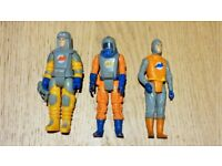 3 x Action Force Figures