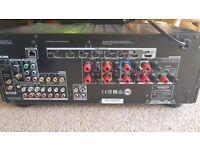Onkyo Dolby Atmos 5.1.2 surround sound amp