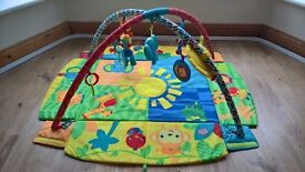 Bright Starts Sunny Safari Baby Play Mat