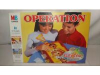 Operation - The Electronic Fun Game by MB Games 1996 Vintage Edition