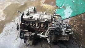 Engine for Ford Connect, 2009, has NO INJECTORS.