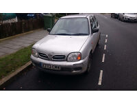 NISSAN MICRA FOR SALE ONLY £695 ****12 MONTHS MOT TILL FEBUARY 2018 *****