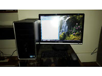 Dell Inspiron 620 tower PC / Windows 7 / full MS Office 2007