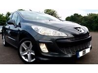 2009 PEUGEOT 308 SPORT, 1.6 PETROL, 120BHP, 3 MONTH WARRANTY, EXCELLENT CONDITION,P/X WELCOME