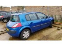 Renault megane 1.6 petrol 2004
