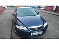 Mazda 6 1.8 Petrol, long mot, low milage, P/x available