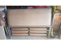 Double bed metal frame SOLD
