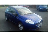 Fiat Punto. 12 months MOT, in good condition