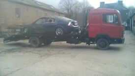 mercedes 814 recovery truck sleeper cab hiab beavertail open to offers