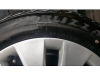 Bmw winter wheels tyers