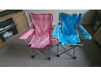 Kids folding chairs new
