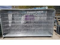 Heras Panel Roundtop 2.0m(h) x 3.5m(w) NEW