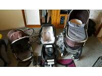 icandy peach pram and accessories