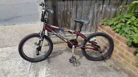 "Mongoose ""Villain"" BMX bike 20"" wheels good condition"