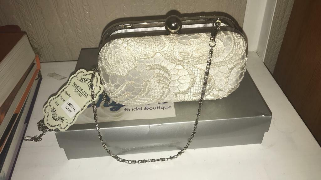 Lace clutch/handbag