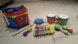 Musical instruments bundle