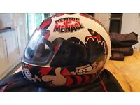Dennis The Menace Motor Bike Helmet (Make HJC)
