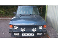 Land Rover - Range Rover Classic V8 Vogue SE (For the investor or the enthusiast)