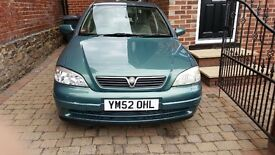 Vauxhall astra 52 plate £700 ONO