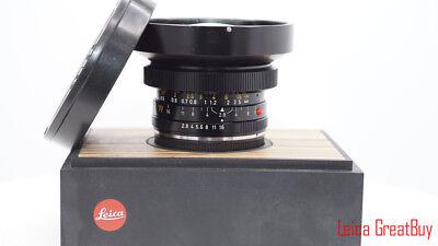 08fb332e8e Leica Elmarit-R 19mm f 2.8 MF 3 Cam Lens  2954700