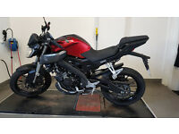 Very Low Mileage Yamaha MT 125 - Used 2nd Hand Yamaha MT125 for Sale