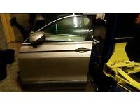 VW TIGUAN MK2 NSF OSF PASSENGER DRIVER FRONT DOOR COMPLETE BEIGE LA1 2016 - 2017