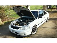 Honda Civic Coupe Modified Tastefully AUTO 1.6sport Immaculate in and out CRX SEATS
