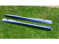 Genuine Rare Ford Escort GTi Estate Side Skirts
