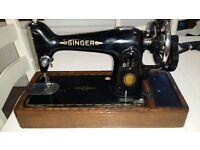 Antique/vintage Singer sewing machine 201k. Very All Saints!!