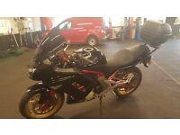 Kawasaki erf650 abs 12mths test loads of extras. Heated grips Scott oiler top box givi .bargain bike