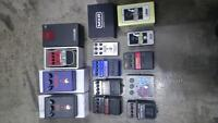 Loads of pedals for sale