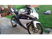 Yamaha Yzf-R 125 LOW MILEAGE!!! part ex welcome on dt125 or dt-r