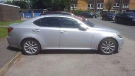 Lexus IS 250, 2.5, saloon, 2007, petrol, Silver, 4dr, NAV, Leather, Rear camera, MOT 27/01/2018