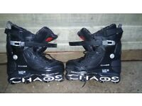 Chaos ufs inline skates in very good condition size 8uk can deliver or post!