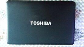 toshiba C650 4gb ram 250gb hard driver good condition and cheap